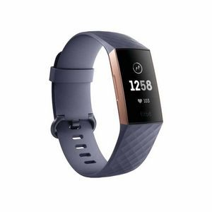 Fitbit Charge 3 Fitness Tracker with Heart Rate Monitor - Blue Grey/Rose Gold