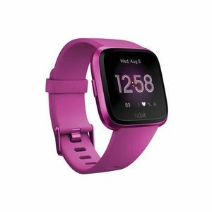 Fitbit Versa Lite Watch - Mulberry with Mulberry Aluminum