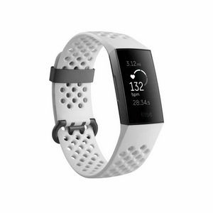 Fitbit Charge 3 Special Edition Fitness Tracker with Heart Rate Monitor - White/Graphite