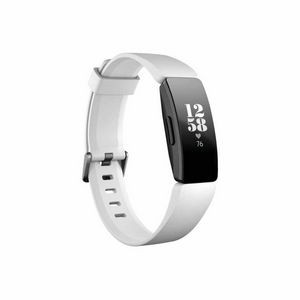 Fitbit Inspire HR Fitness Tracker - White, Black