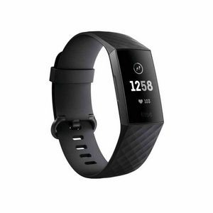 Fitbit Charge 3 Fitness Tracker with Heart Rate Monitor - Black/Graphite