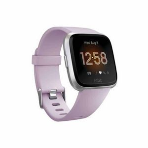 Fitbit Versa Lite Watch - Lilac with Silver Aluminum