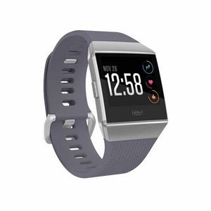 Fitbit Ionic Watch - Blue Gray - White