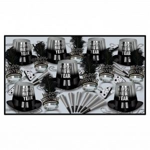 Silver Entertainer Party Kit for 50 People
