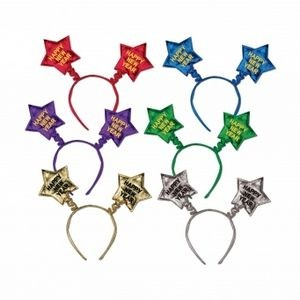 Happy New Year Star Boppers - Multi-Color