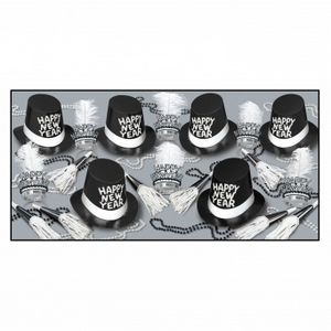 Top Hat & Tails Party Kit for 50 People