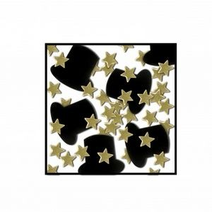 Top Hats & Mini Stars Table Confetti