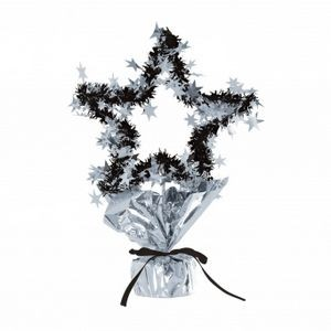 "11 1/2"" Star Gleam'n Shape Centerpieces - Silver"
