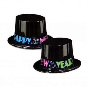 Neon Party Topper Hats