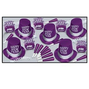 Purple Passion Party Kit for 50 People