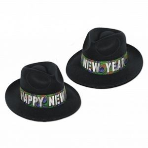 Peacock Velour Fedoras Hat