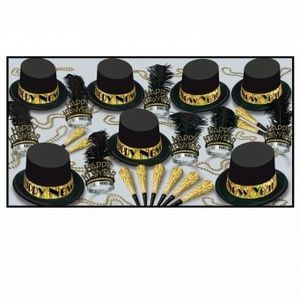 The Gold Top Hat Party Kit for 50 People