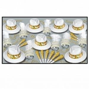LA Swing Gold Party Kit for 50 People