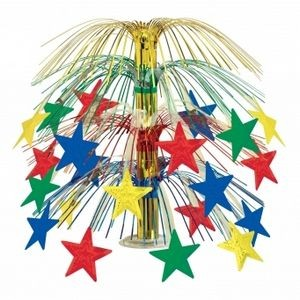 "18"" Star Cascade Centerpieces (Multi Color)"