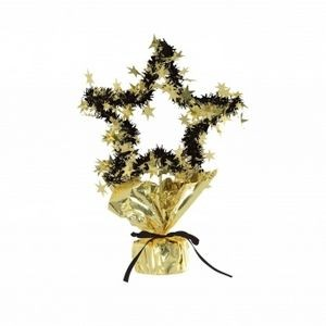 "11 1/2"" Star Gleam'n Shape Centerpieces"