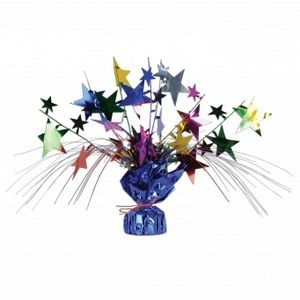 "18"" Star Gleam'n Spray Centerpieces - Multi-color"