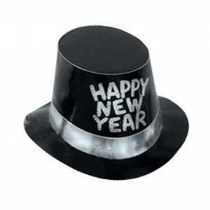 Foil Glittered New Year Hi-hats